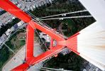 Sutro Tower, Looking-Down, Antenna, Structural system Truss tower, telecommunications, telecom, TRAV01P08_01