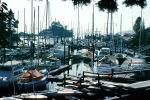 Crowded Docks, Marina, West Vancouver Yacht Club, TSCV07P10_03