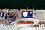 Lifeboat, Carnival Cruise Lines, Port of Miami, Miami Harbor, Harbor