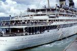 Matsonia, Honolulu, Hawaii, Cruise Ship, IMO: 5229223, 1963, 1960's