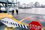 STOP, Car Ferry, Mississippi River, New Orleans, Ferry, Ferryboat, TSPV05P04_04