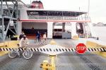 STOP, Car Ferry, Mississippi River, New Orleans, Ferry, Ferryboat, TSPV05P04_08