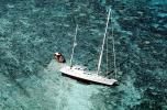 Coral Reef, Shipwreck on a Barrier Reef, yacht, salvage operation, TSRV01P01_15