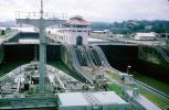 Gatun Locks, mule, 1966, 1960's
