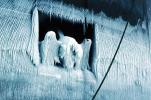 Frozen Anchor, Icicles, Great Lakes Ore Ship, Stewart J. Cort, Bulk Carrier, IMO: 7105495, TSWV04P13_04
