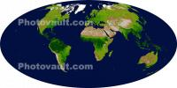 The Whole Earth, Globe, world map, UPDD01_038