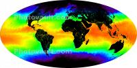 world map, MODIS Global Sea Surface Temperature, UPDD01_039