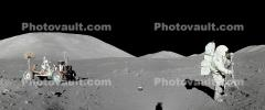 Moon Buggy, Astronaut, Geology, Geology, Apollo 17, USLD01_007B