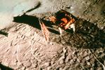 Lunar Module, LM, LEM, on the moon, Lunar Excursion Module, Landing, USLV01P01_12