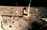 Instruments, Footprints, Walking on the Moon, Moonwalk, Walk, USLV01P02_06