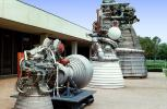 Saturn-V Moon Rocket Engines, Nozzle, F-1 Rocket Engines, USLV01P11_18