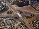 Parclo Interchange, overpass, underpass, freeway, highway, symmetry, exit, entry