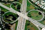 Cloverleaf Interchange, overpass, underpass, freeway, highway