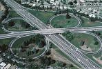 Cloverleaf Interchange, overpass, underpass, freeway, highway, VARV01P02_18