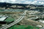 Parclo Interchange, Interstate Highway 580, I-680, looking west to Dublin, VARV01P03_14