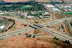 Cloverleaf Interchange, overpass, underpass, freeway, highway, Interstate Highway I-680, I-580, VARV01P03_19.0898