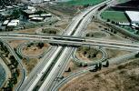 Cloverleaf Interchange, overpass, underpass, freeway, highway, Interstate Highway I-680, I-580, VARV01P04_01