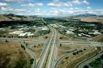 Cloverleaf Interchange, overpass, underpass, freeway, highway, Interstate Highway I-680, I-580, VARV01P04_05