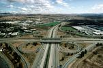 Cloverleaf Interchange, overpass, underpass, freeway, highway, Interstate Highway I-680, I-580, VARV01P04_06