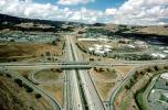 Cloverleaf Interchange, overpass, underpass, freeway, highway, Interstate Highway I-680, I-580, VARV01P04_13