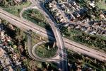 Parclo Interchange, Interstate Highway I-580, Homes, houses, neighborhood, suburbia, suburban, VARV01P09_07