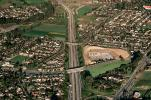 US Highway 101, Freeway, suburbia, suburban, homes, houses, neighborhood, VARV01P09_12