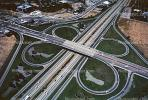 Cloverleaf Interchange, overpass, underpass, intersection, freeway, highway, symmetry, exit, Interstate Highway I-680, VARV01P11_18