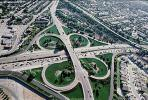 Cloverleaf Interchange, overpass, underpass, intersection, freeway, highway, symmetry, exit, Four-way Interchange, Interstate Highway I-680