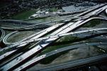 Highway 101, Highway-92 Junction, Freeway, Highway, Interstate, Road, San Mateo, California, Stack Interchange, VARV01P13_10