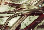 Circle Interchange, Interstate Freeway, Maze, tangle, overpass, underpass, intersection