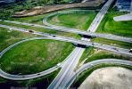 Half Cloverleaf Interchange, highway, exit, entrance, entry, offramp, off ramp, off-ramp, cars, vehicles, Parclo Interchange