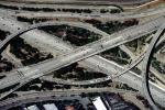 Four-way interchanges, Three-level Cloverstack Interchange, Interstate Highway I-405 interchanges with Costa Mesa Freeway, VARV03P09_13