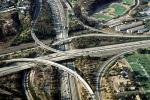 Stack Interchange, Interstate Highway I-5, La Jolla, VARV03P10_08