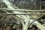 Stack Interchange, freeway, highway, Maze, tangle, overpass, underpass, Orange County, VARV03P10_11