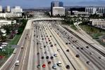 Interstate Highway I-405, Irvine, California, cars, traffic, freeway, buildings, skyline, VARV03P11_08