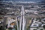 Four-way interchange, Partial Stack Interchange, Costa Mesa, California, Maze, VARV03P12_19