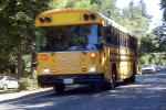 School Bus, Bloomfield Road, Sonoma County, California