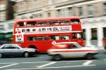Doubledecker bus, buildings, road, street, VBSV01P07_04
