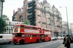 Doubledecker bus, buildings, road, street, VBSV01P07_07