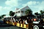 Miniature Train, Parking Shuttle, Key West, Florida, VBSV02P05_15