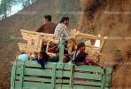 overcrowded truck, people, furniture, VBSV02P10_16.0563