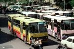 Crowded with Buses, Articulated, VBSV03P09_18
