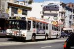6241, Articulated bus, North-Beach, MUNI