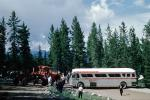 Trailways Bus, Banff, Alberta, Canada, 1962, 1960s