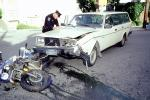 Volvo Station Wagon, Potrero Hill, San Francisco, Car Accident, Auto, Automobile