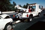 Tow Truck, Interstate Highway I-80, Pinole, California, Towtruck, VCAV03P04_08