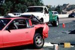 Tow Truck, Interstate Highway I-80, Pinole, California, Towtruck, Car Accident, Auto, Automobile, VCAV03P04_14