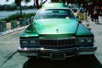 Hood Ornament, Cadillac, Lowrider Car, head-on, automobile, 1970's, VCCV01P03_08
