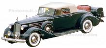 automobile, roadster, rumble seat, cabriolet, whitewall tires, grill, photo-object, object, cut-out, cutout, VCCV01P07_04F