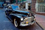 1947 Chevrolet Fleetmaster, Chevy, Front, Chrome Grill, Bumper, Car, vehicle, VCCV02P07_15.0563